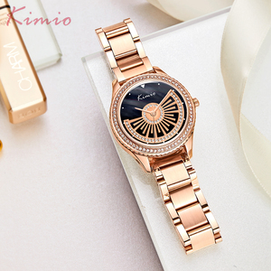 Customizable Stainless Steel Watch Band Female Fashion Wristwatches For Girls