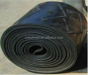 500-1400mm Width Types of Patterned Belt Chevron Pattern Rubber Conveyor Belt