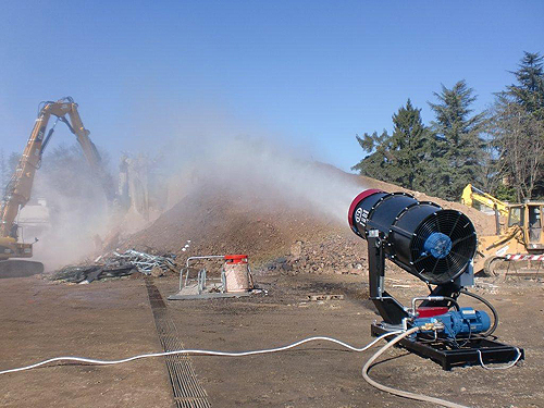 Alibaba trade assurance dust control nozzle