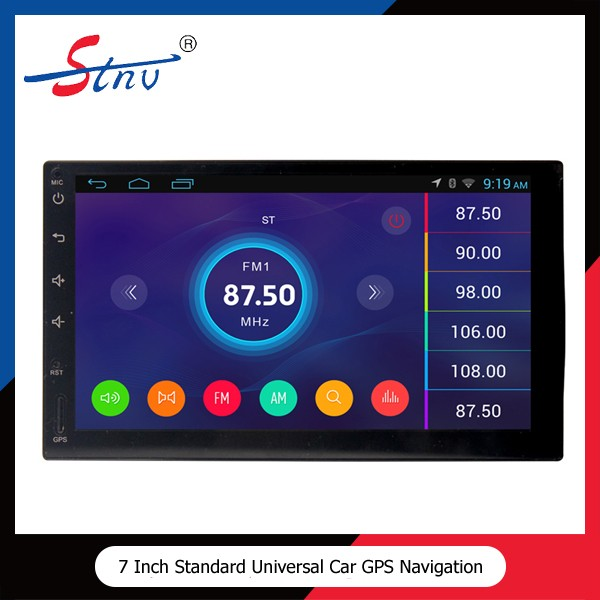 7 inch universal car gps navigation with Radio Player/Rear Camera/3G WIFI