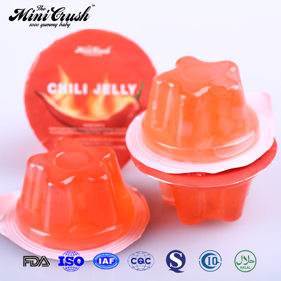Assorted fruit flavors halal 15g jelly manufacturer