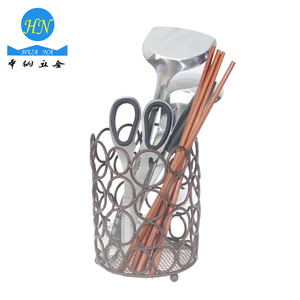 Lantern shaped chopsticks barrels dinnerware holder for kitchen restaurant