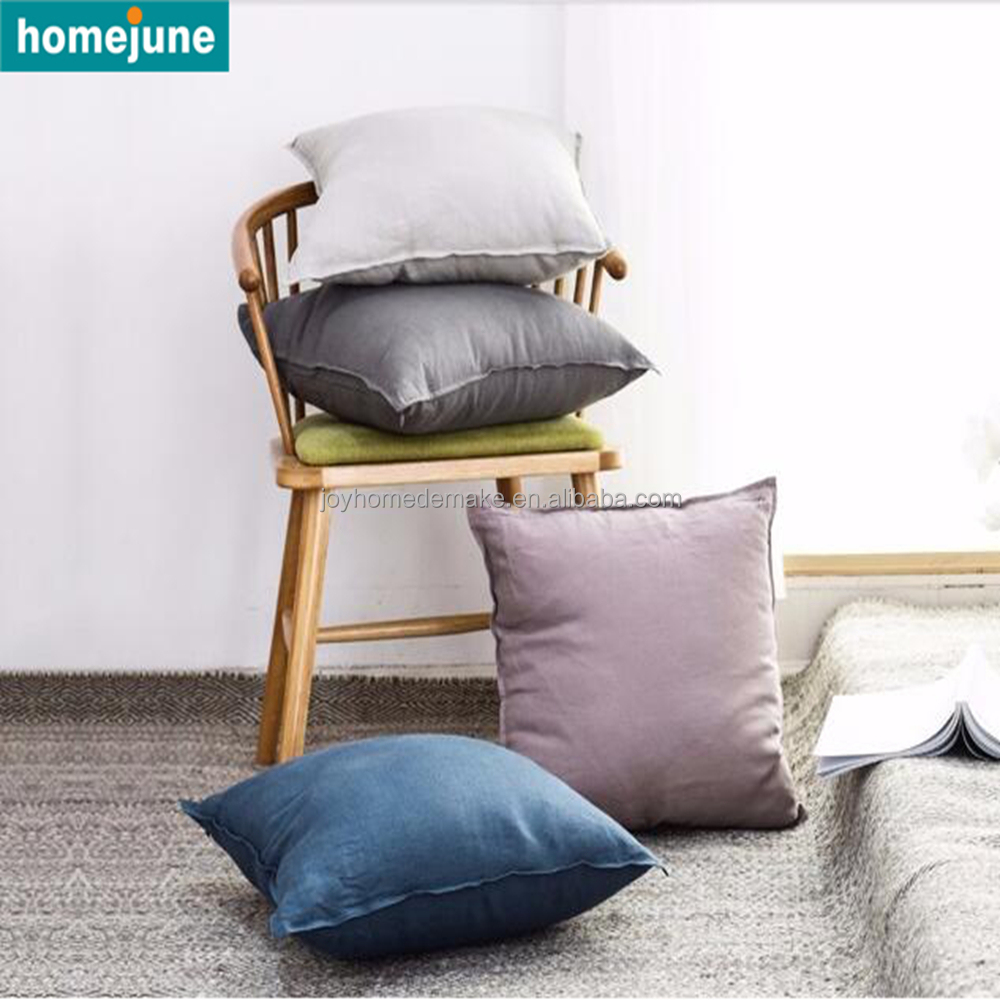 unique design hot selling factory price Japan style flax cushion