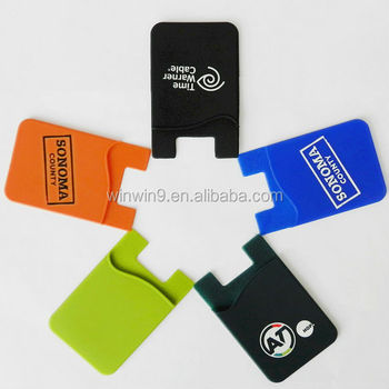 Mobile Phone Accessories Card Pocket for Phone Sticky Card Pocket Wallet
