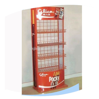 Top grade metal display stand for foods