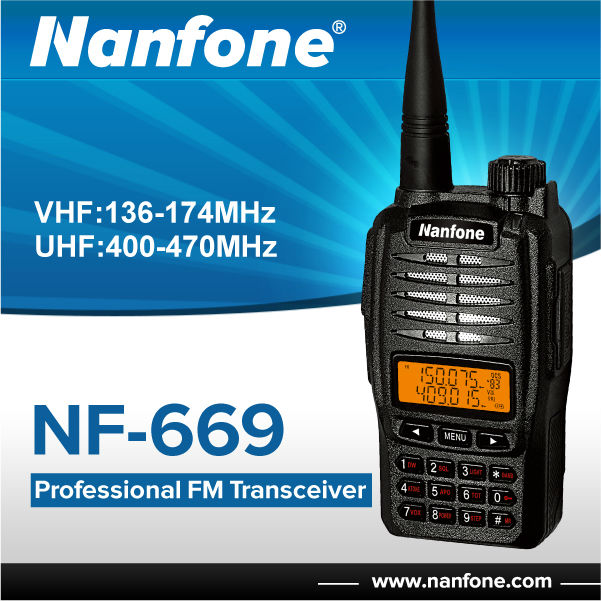 Nanfone NF-669 Portable Security Guard Equipment Two Way Radio