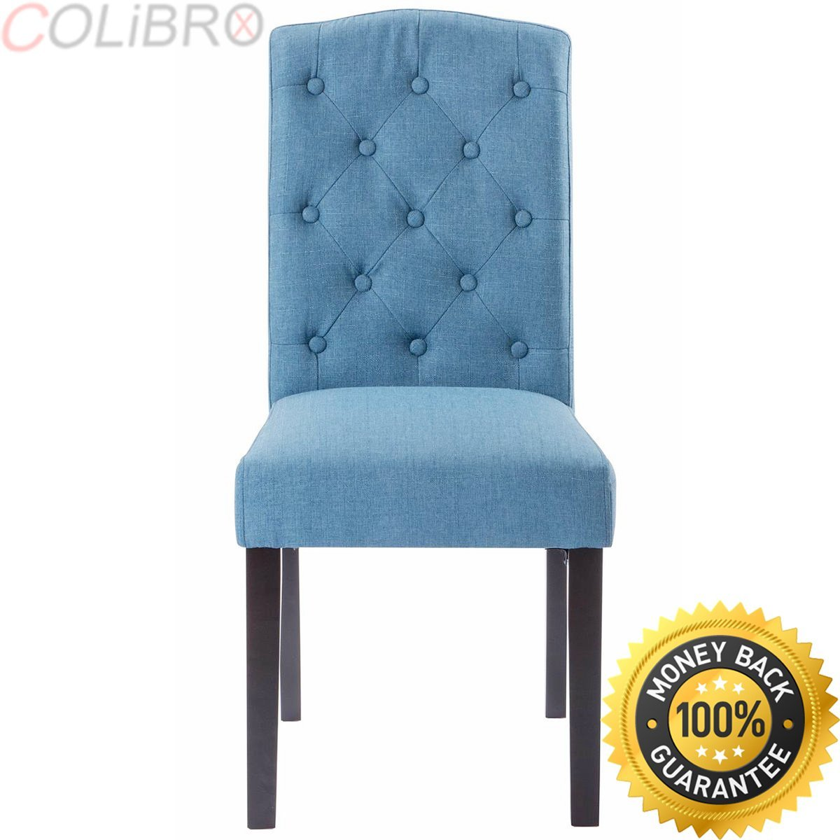Picture of: Buy Colibrox Set Of 4 Fabric Cushion Seat Accent Arm Chair Dining Chair Metal Leg Living Room Side Dining Chair Upholstered Dining Chairs Set Of 4 Living Room Accent Chairs Amazon Dining Room Chairs In Cheap