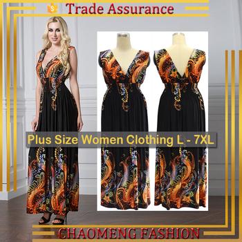 5063# Sleeveless Long Summer Dress Women Beach Boho Maxi Dress ...