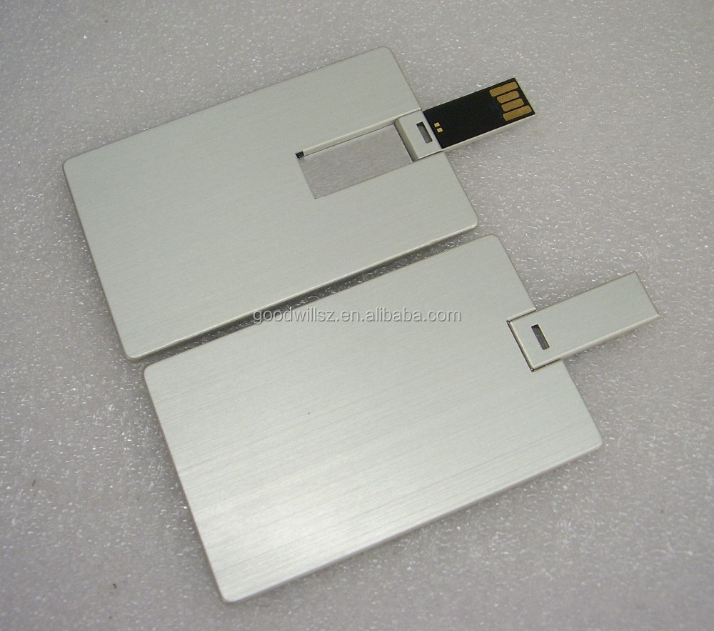 Metallic Usb Business Card,Metal Card Usb,Cheap Metal Business Card ...
