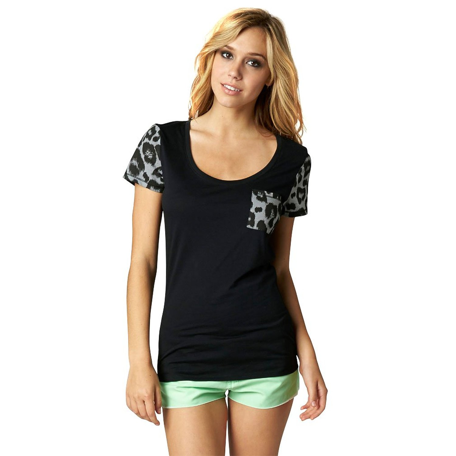 Fox Racing Girls Extinct Scoop Short-Sleeve Shirt