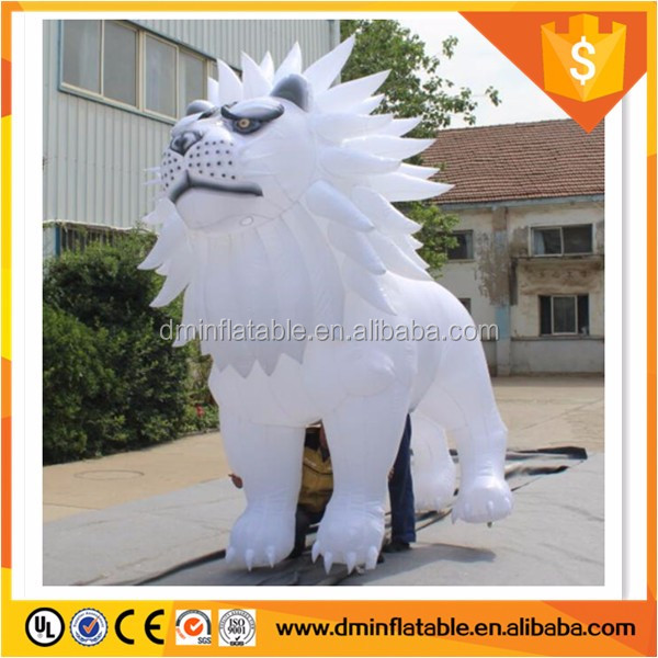 2016 giant inflatable wolf, inflatable wolf with LED light for advertising