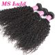 virgin brazilian 20 inch kinky curly hair weave apply hair extension from mslula