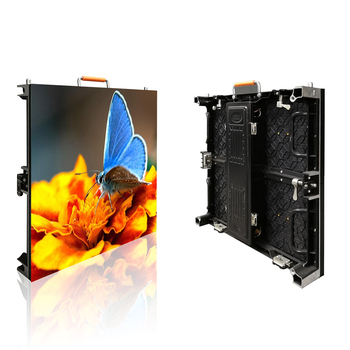 Die-casting Aluminum Indoor P3.91 Events Rental Truss Stage Backdrop LED Display Screen