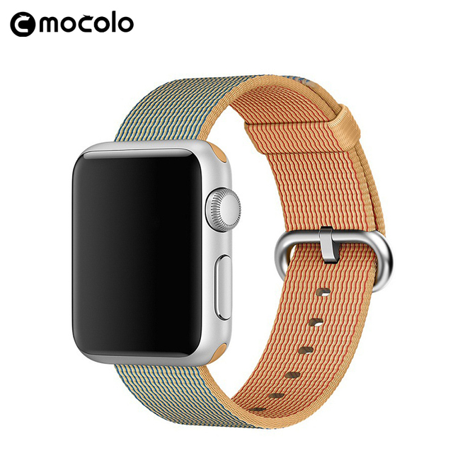 Mocolo Latest Multi Color Nylon Fabric Strap Watchband 38/42mm for Apple Watch
