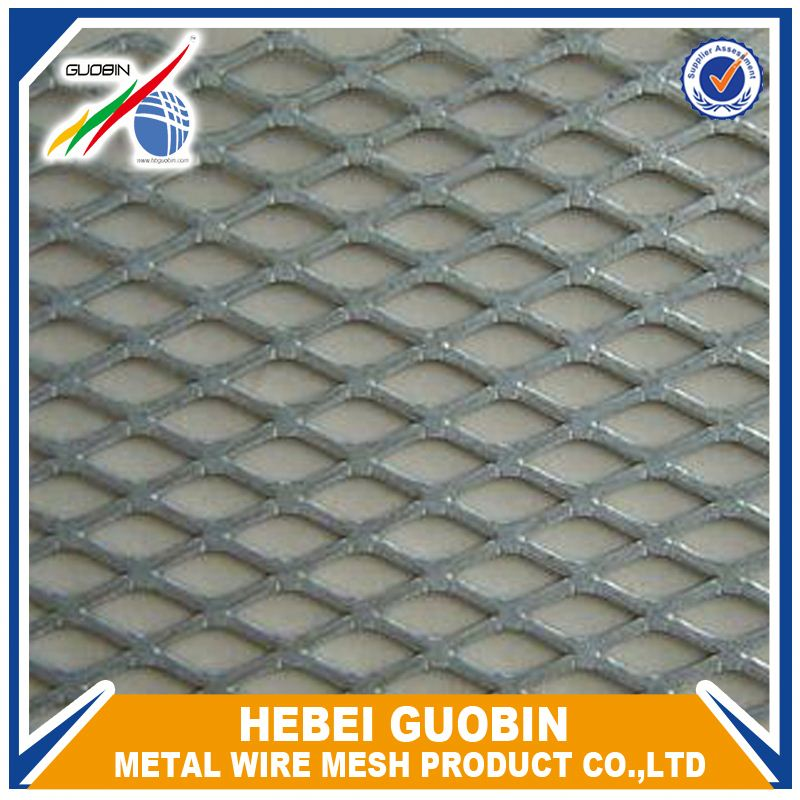 Pulled Plate Aluminum Wire Mesh Modern Metal Fence - Buy Modern ...