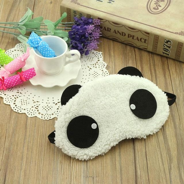 China manufacturer cartoon cool gel sleep eye mask