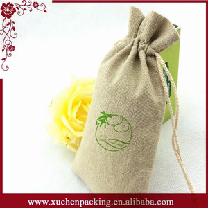 Fashion Custom Printing Promotion Sale Wholesale Burlap Hessian Gift Bags Sacks/Jute Bags