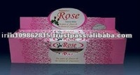 Rose Incense Stick in Hexagonal Packing