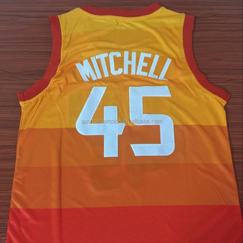 superior quality 6c110 43623 Wholesale City Edition Donovan Mitchell Orange Basketball Jersey - Buy  Cheap Basketball Jerseys,Yellow Basketball Jersey,Basketball Jersey Pink ...