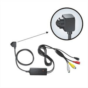 "1/4"" sony Color CCD Miniature Hidden Video Camera with 420TVL,0.5lux(D)/0.05(N)Lux 3.7mm cone pinhole lens"