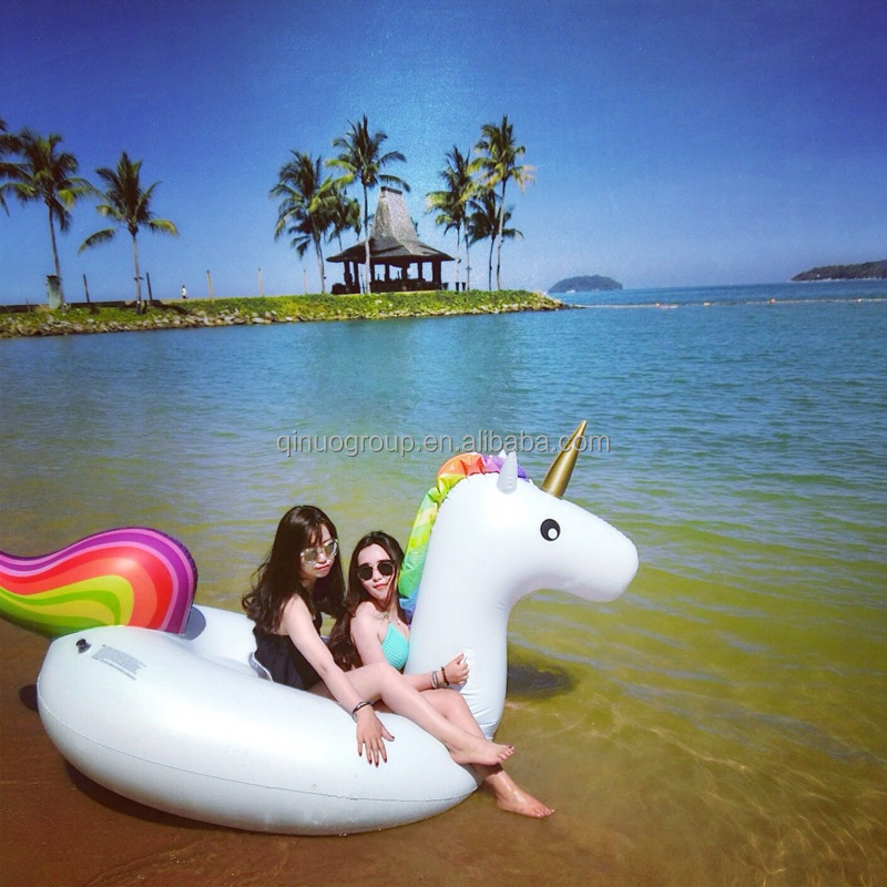 2016 hot sale water enterainment giant inflatable unicorn toy