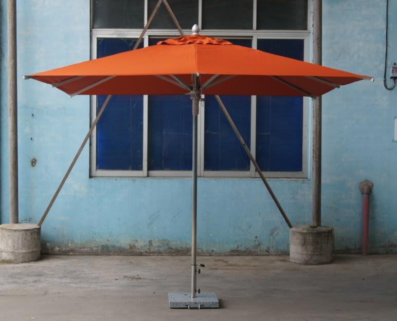 Awesome Philippines Eleanor 3X3M Large Square Waterproof Orange Outdoor Sunshade  Umbrella Parasol