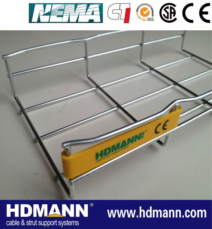 Contemporary Wire Basket Cable Tray Pricing Ornament - Electrical ...