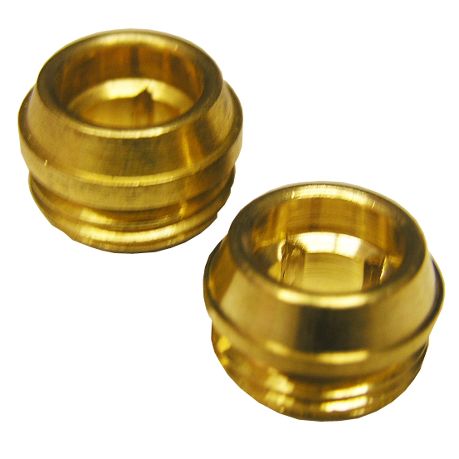 LASCO SB-61NL No Lead 5/8 by 20 by 27/64 Brass Faucet Seats Fits Gerber Brand, 2-Pack