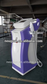 Medical CE intense pulsed light vertical ipl hair removal machine with Xenon lamp