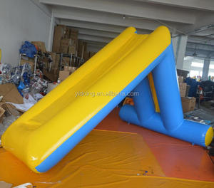 Water Park Giant Inflatable Floating Water Slide For Commercial Pool And Open Sea D3036-2
