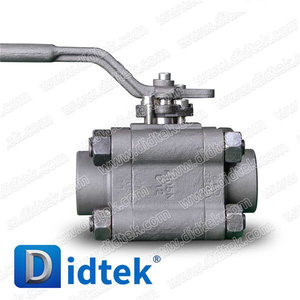Didtek China Manufacturer Steam Forged Threaded Ball Valve
