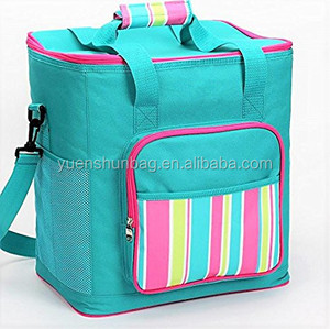 Fashion Portable Lunch Coller Bags and Beer Bottle Cooler Bag Insulated Lunch Bag