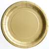 Hot stamp silver gold laminated paper plate