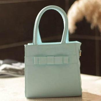 Hottest Korean Style Mint Green Candy Color Children S Handbag Shoulder Bag