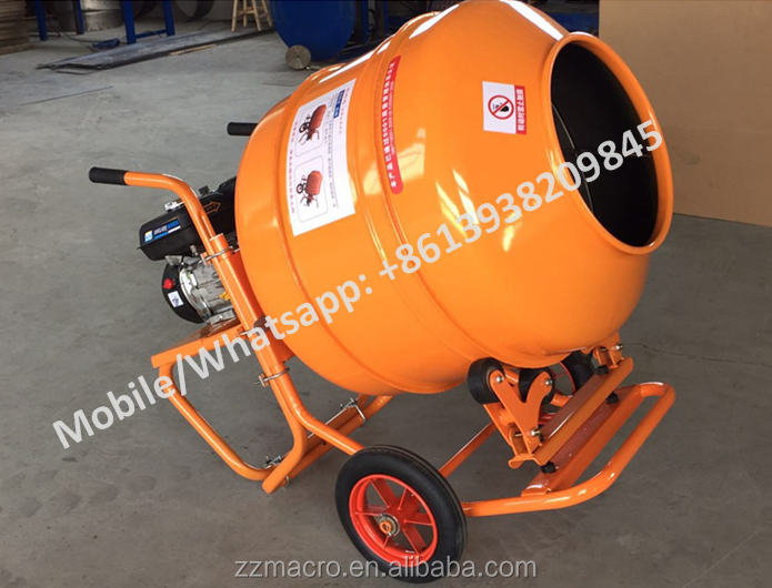 Factory Price Small Electric Cement Mixer 140l Mini Manual