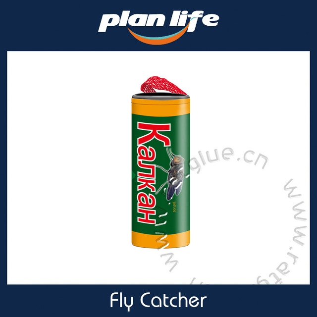 Pic Fly Paper Ribbon Insect Catcher Sticky Bee Wasp Bug Pest Trap