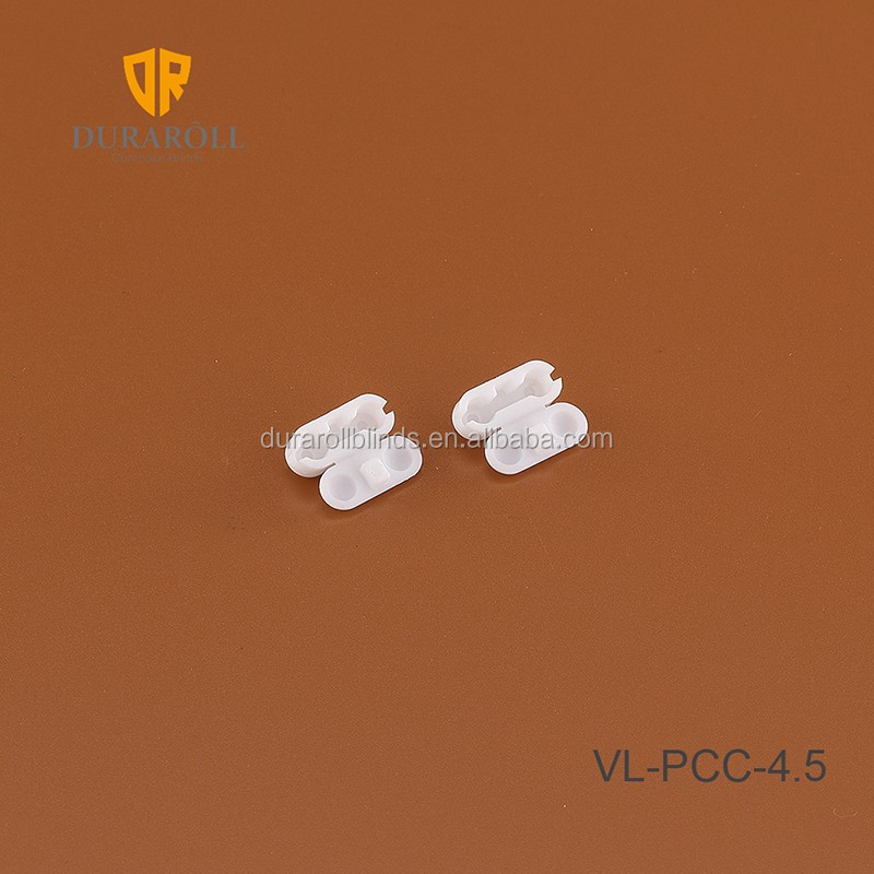 PVC flexible cord connector connector for vertical window blinds