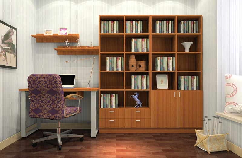 Home furniture design study room book cabinet buy book Study room wall cabinets
