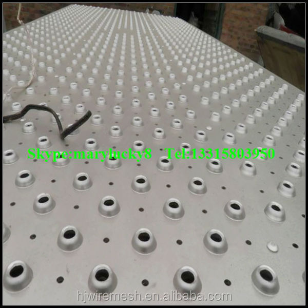 Anti Skid Perforated Aluminum Sheet 2015 Punching Hole