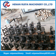 High capacity hard cashew shell nut sheller/cashew breaking machine