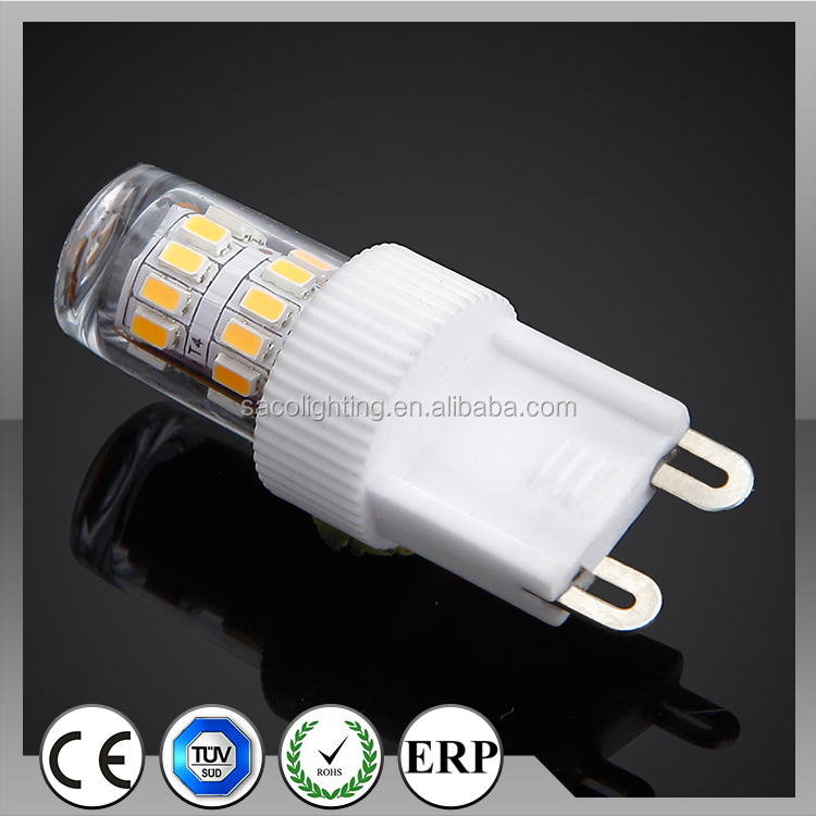 2015 Best Selling Tuv's Ce Dimmable G9 Led Bulb Rgb