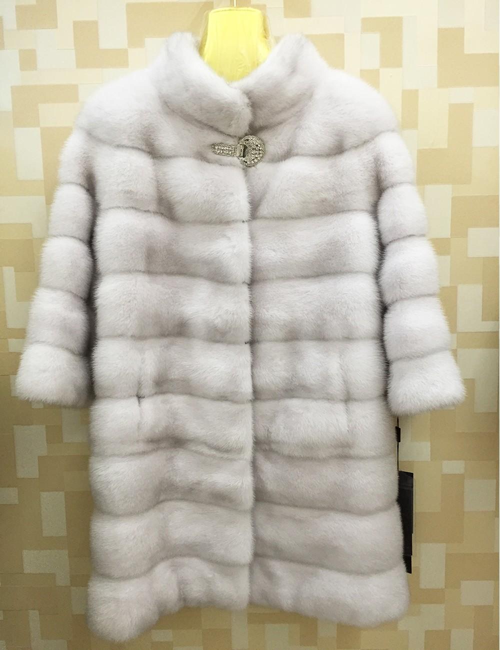 Vendo abrigo de piel de vison