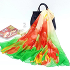 High design women summer beachwear digital beach sarong and thailand batik sarong fabrics african sarong towel