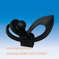 Customized Black Marble Modern Abstract Sculpture For Garden