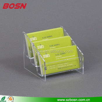 3 pocket clear acrylic business card display holderacrylic credit 3 pocket clear acrylic business card display holder acrylic credit card rack acrylic colourmoves