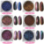 BIN 12 Color For Choice Laser Chameleon Nail Pigment Chrome Nail Powder