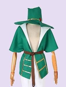 FW@ The Labyrinth of Magic Yunan Cosplay Costume , female , xxxl