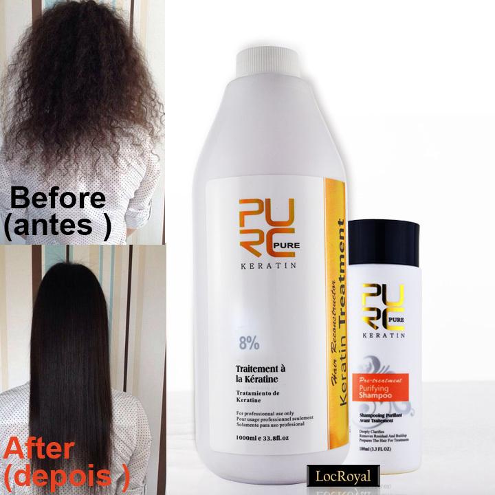 Brazilian shampoo straightening hair