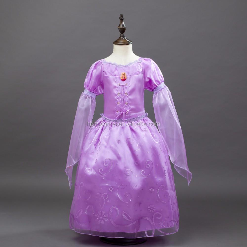 Fuente De La Fábrica Nueva Moda Color Púrpura Largo Stlye Rapunzel ...
