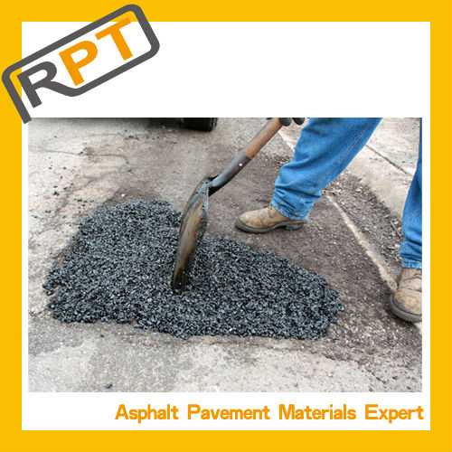 No need special tools to finish the instant road repair product